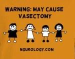 warning vasectomy
