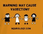 warning vasectomy